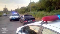Нетрезвый водитель устроил гонки с патрульными и был заблокирован дополнительным экипажем
