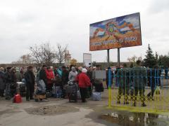 У Станиці Луганській запрацював піший перехід з окупованою територією