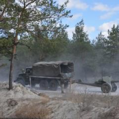 На Луганщині – перемир'я. Відведено артилерію калібру 85 мм
