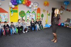 У Сєвєродонецьку для дітей переселенців провели майстер-класи з особистої гігієни та санітарії
