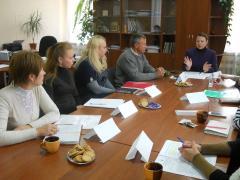 У Сєвєродонецьку проведено фокус-групу щодо використання бюджетних коштів у соціальній сфері на забезпечення потреб переселенців