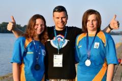 Три медали северодончанок на чемпионате Европы
