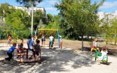 В Северодонецке появились три новые детские площадки