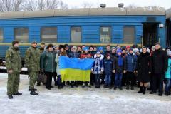 «Потяг Дружби» покликав у мандрівку Україною 540 діток з Луганської та Донецької областей