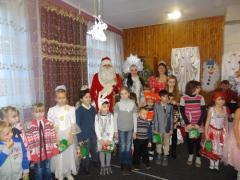 22 грудня відбулася конкурсно-розважальна програма «Казковий переворот»