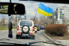 Патриотический автопробег в Северодонецке