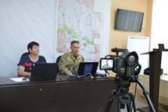 В Северодонецке подвели итоги проекта по сотрудничеству с военными