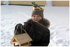Підгодуйте птахів взимку!