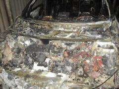 В Сєвєродонецьку на стоянці згоріли дві автівки