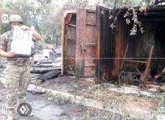 """""""АТОшники"""" показали фото с последствиями обстрелов сепаратистами Зайцево, Майорска и Попасной"""