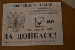 """Москаль: """"Частина людей досі не зрозуміла, у що втягнула країну, пішовши на так званий референдум 11 травня минулого року"""""""