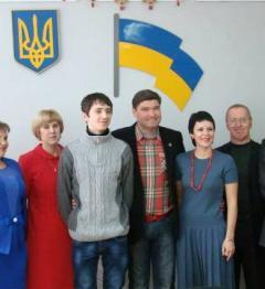 Ветеран АТО в Рубежном получил в подарок ключи от квартиры