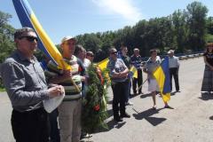 В Рубежном состоялся траурный митинг