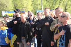 В прифронтовом городе Луганщины массово скандируют: «Слава Украине»