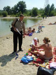 Місто Сєвєродонецьк: рятувальники провели рейд на озерах міста