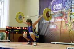 Юні важкоатлети Луганщини встановили два рекорди