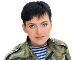 Акция в поддержку Надежды Савченко!
