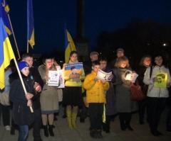 В Северодонецке молились за Савченко