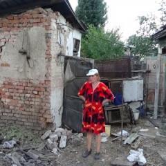 Результати обстрілу терористами з танків м. Щастя 27 липня