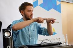 Журналист из Польши снимает документальный фильм о Донбассе