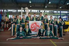 Кикбоксинг WPKA: 40 медалей и 2-е командное место Чемпионата Украины у учеников гун-фу сборной Луганской области