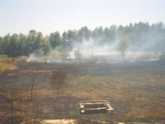 Рятувальники ліквідували пожежу в с. Метьолкіне