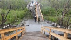 Боевики «ЛНР» перенесли блокпост в Станице Луганской на мост через Северский Донец