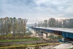 В Лисичанске заканчивается восстановление моста через Северский Донец