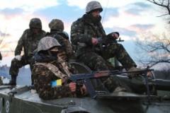 Украинские военные поймали 12 диверсантов — штаб АТО