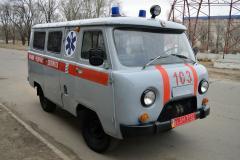 В Северодонецк доставили автомобиль скорой помощи