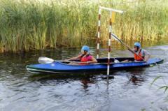Открытые  соревнования по технике водного туризма