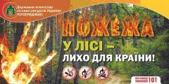 Северодонецкие спасатели призывают граждан соблюдать правила пожарной безопасности во время отдыха в лесу