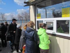 Пішохідний пункт пропуску «Станиця Луганська» відкрито