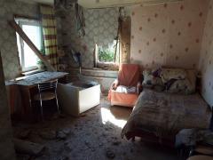 Станица Луганская страдает от обстрелов