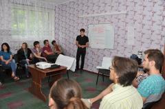 В Сєвєродонецьку навчали волонтерів креативного простору