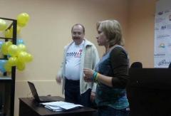В Северодонецке депутат Сергей Самарский учил бороться с коррупцией