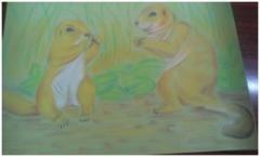 Юні натуралісти Сєвєродонецька малюють світ тварин
