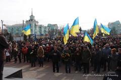 Как разгоняли митинг, посвященный Тарасу Шевченко в Луганске 2014-го