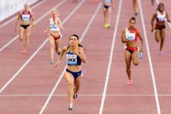 Українська жіноча естафетна команда 4х100 метрів виграла «Діамантову лігу»