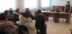 Специалисты УПФУ в г. Северодонецке продолжают проводить беседы с безработными центра занятости и встречи в трудовых коллективах
