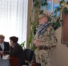 Незвичний Урок мужності було проведено в декількох школах Сєвєродонецька