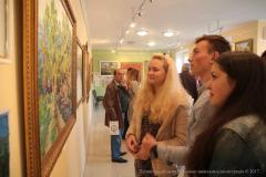 Всеукраїнський культурно-мистецький проект «Мальовнича Україна» урочисто відкрили у Сєвєродонецькій галереї мистецтв
