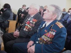 У Луганській обласній ВЦА привітали ветеранські колективи області