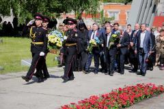 Мітинг-реквієм до Дня пам'яті та примирення пройшов біля Меморіалу Слави