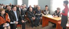 В Северодонецке состоялся пленум городского совета ветеранов.