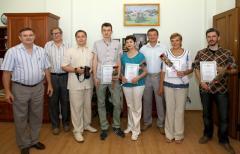 На черговому засіданні виконкому вітали з днем журналіста та 77-річчям Луганщини