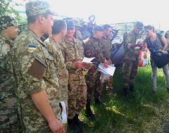 В Северодонецке военных поздравили с Днем Героев