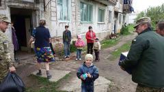 Захисники Луганщини посприяли розв'язанню проблем мешканців Станично-Луганського району