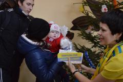 Заступники губернатора привітали з Новим роком школярів-волонтерів
