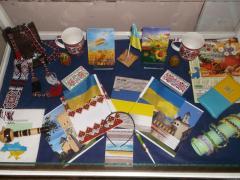 В Сєвєродонецьку пройшла виставка сувенірів та предметів побутового вжитку з національною символікою